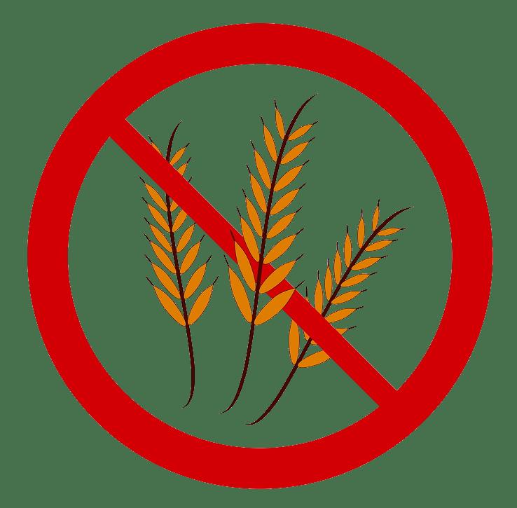 Gluten-free symbol no words