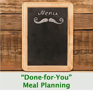 Done-for You Meal Planning
