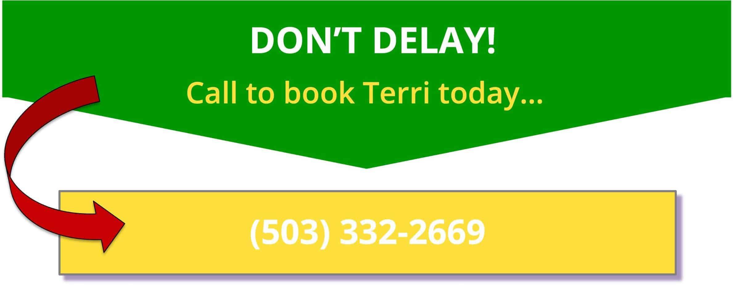 Book Terri Today