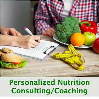Personalized Nutrition Consulting Health Coaching